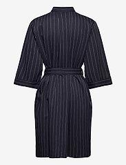 Norr - Ellis shirt dress - alledaagse jurken - blue stripe - 1