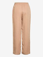 NORR - Jade pants - bukser med brede ben - beige - 1