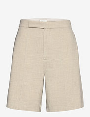 NORR - Milla shorts - bermudas - light grey melange - 0