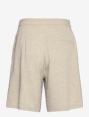 NORR - Milla shorts - bermudas - light grey melange - 1