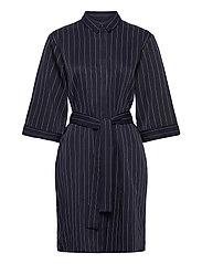 Ellis shirt dress - BLUE STRIPE