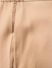 NORR - Jade pants - wide leg trousers - beige - 2