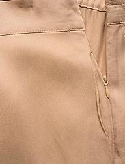 NORR - Jade pants - wide leg trousers - beige - 4