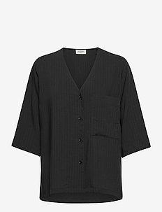 Emery shirt - chemises à manches courtes - black