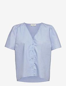 Shelly shirt - chemises à manches courtes - light blue