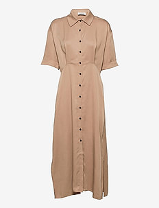 Jade maxi dress - aftenkjoler - beige