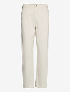 Kenzie slit jeans - chinos - ecru