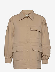 Austin jacket - plonos striukės - camel