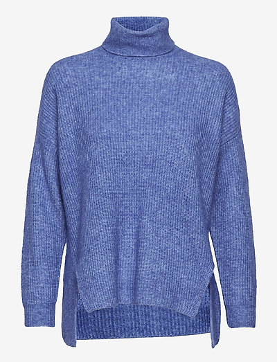 Nordby roll-neck - pulls à col roulé - dusty blue