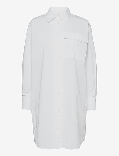 Coco long shirt - summer dresses - white