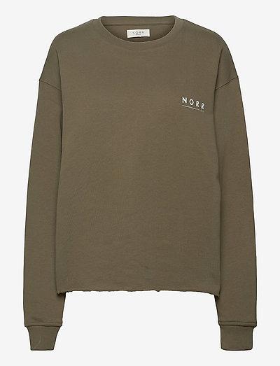 Daisy sweat top - sweatshirts et sweats à capuche - army