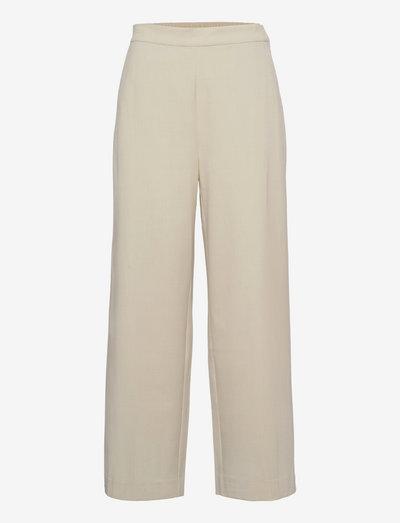 Linea pants - pantalons larges - ecru