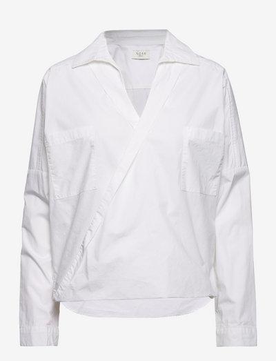 Graham top - denimskjorter - white