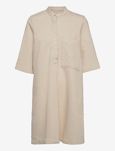 Nolan denim dress - robes d'été - ecru