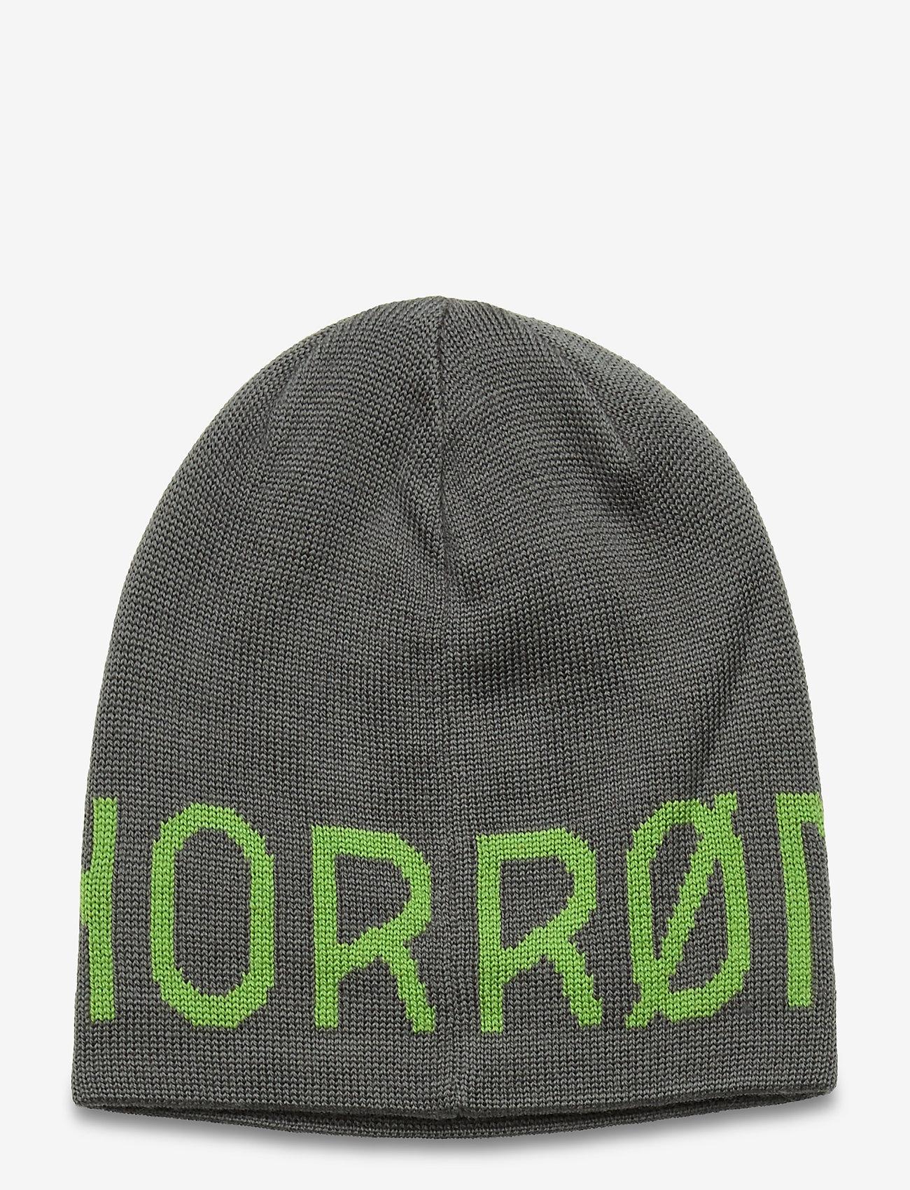 Norrøna - /29 logo Beanie - bonnet - castor grey - 1