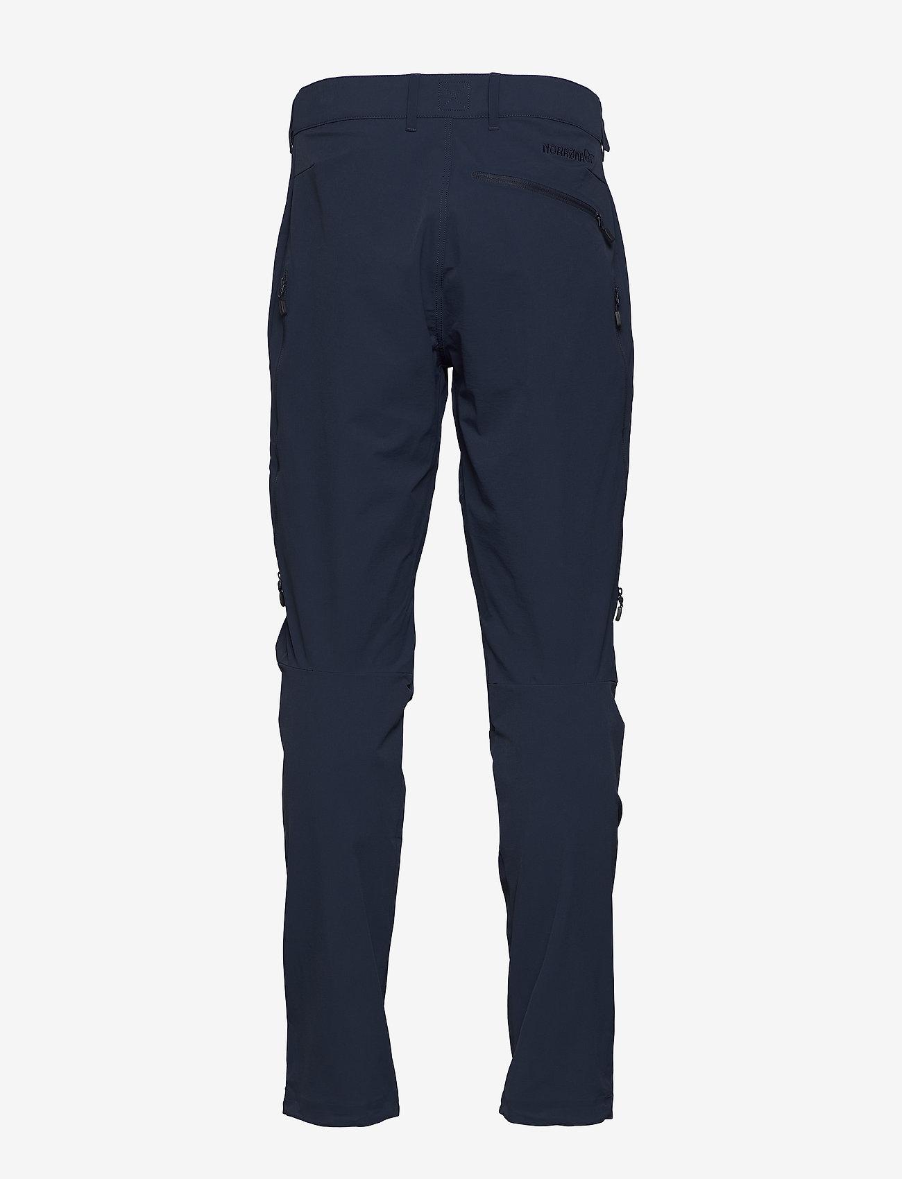 Norrøna - falketind flex1 Pants M's - softshellhose - indigo night - 1