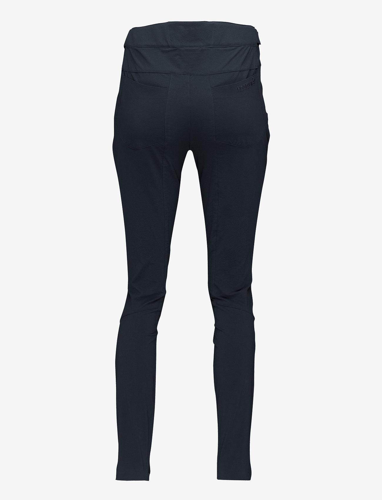 Norrøna - falketind flex1 slim Pants W's - friluftsbukser - caviar - 1