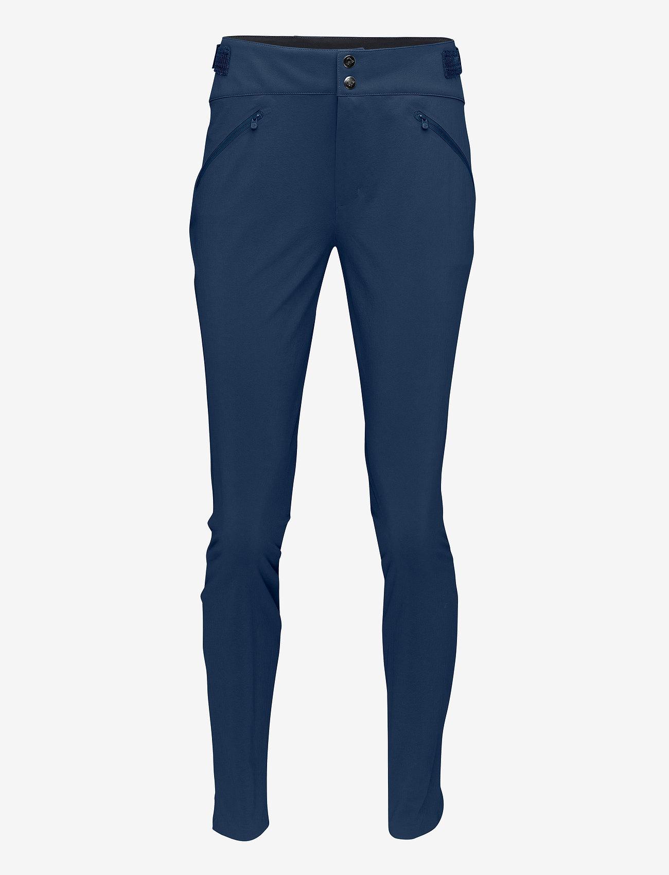 Norrøna - falketind flex1 slim Pants W's - friluftsbukser - indigo night - 0