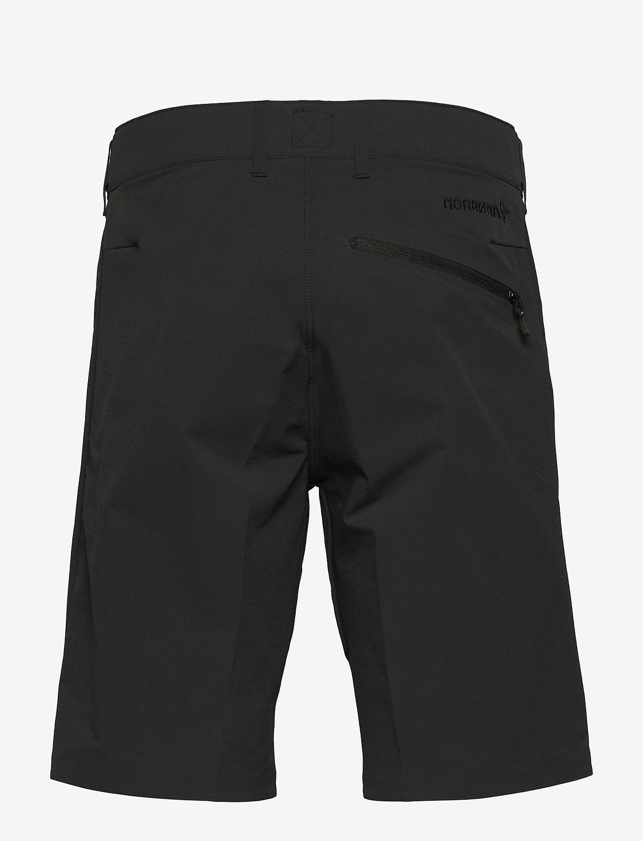 Norrøna - falketind flex1 Shorts M's - training korte broek - caviar - 1