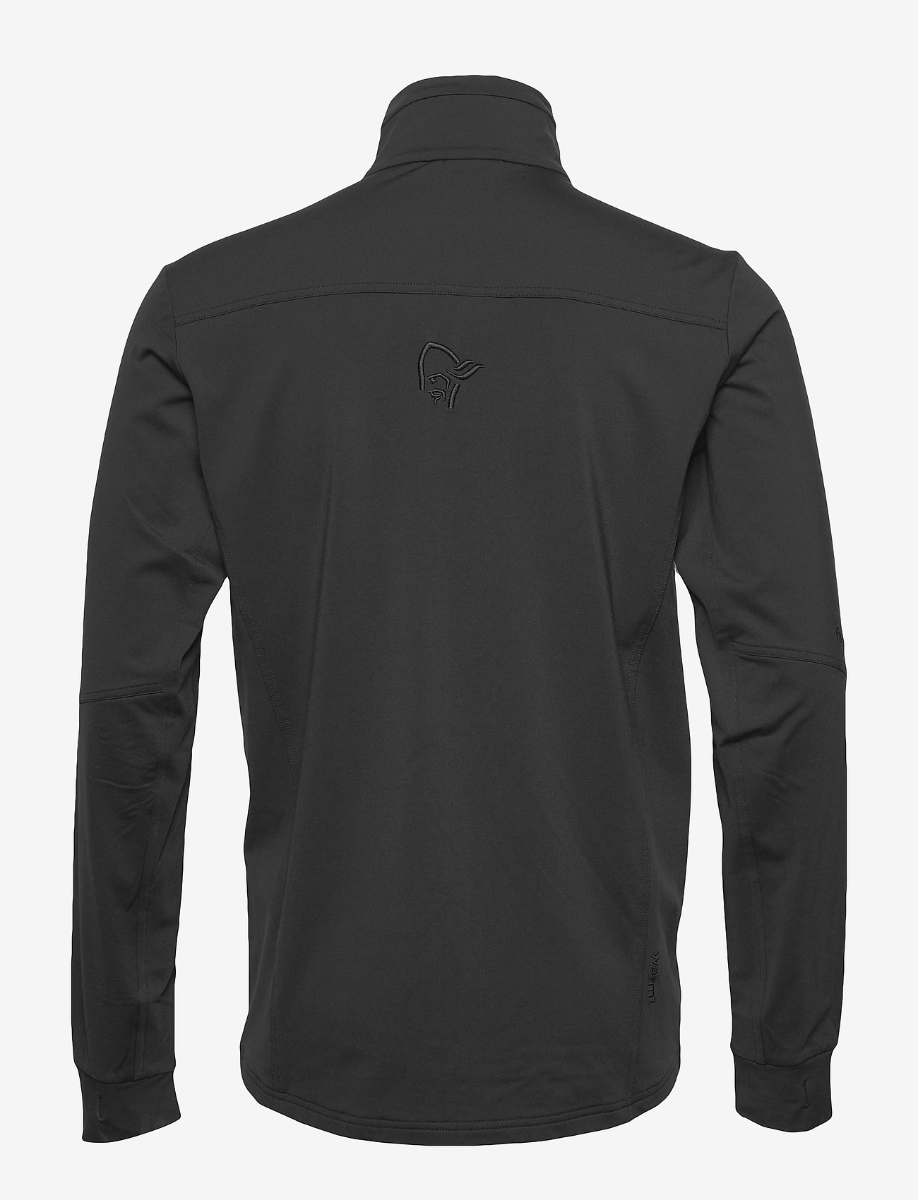 Norrøna - falketind warm1 stretch Jacket M's - fleece midlayer - caviar - 1