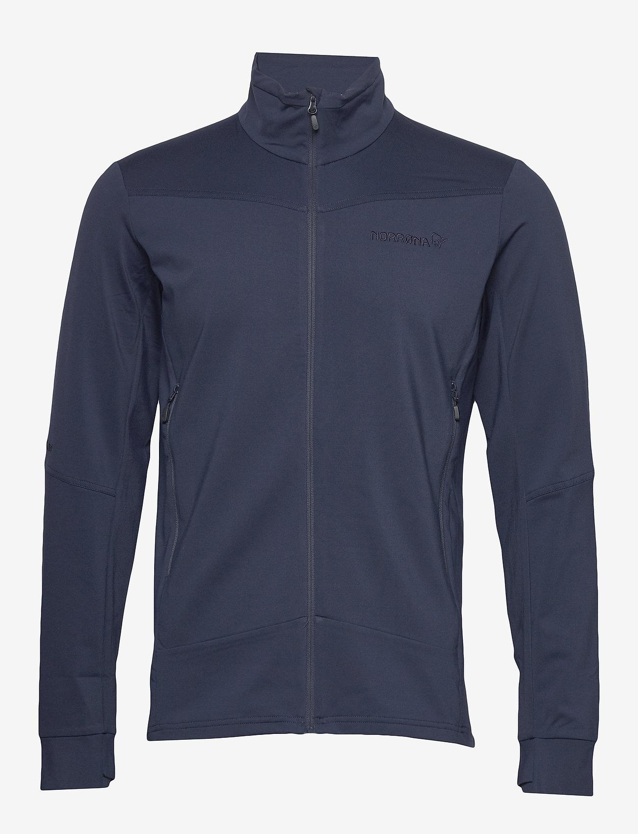 Norrøna - falketind warm1 stretch Jacket M's - fleece midlayer - indigo night - 0