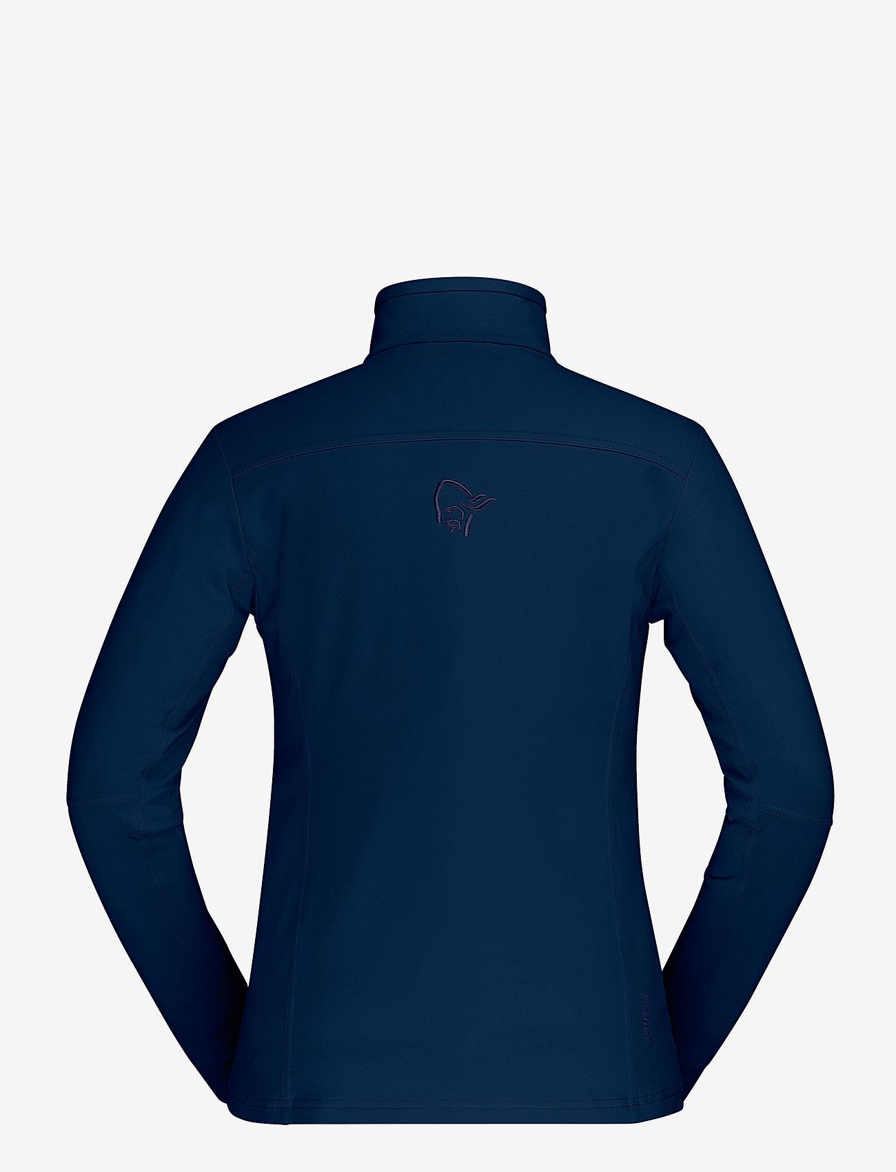 Falketind Warm1 Stretch Jacket W's (Indigo Night) - Norrøna 45KHrR