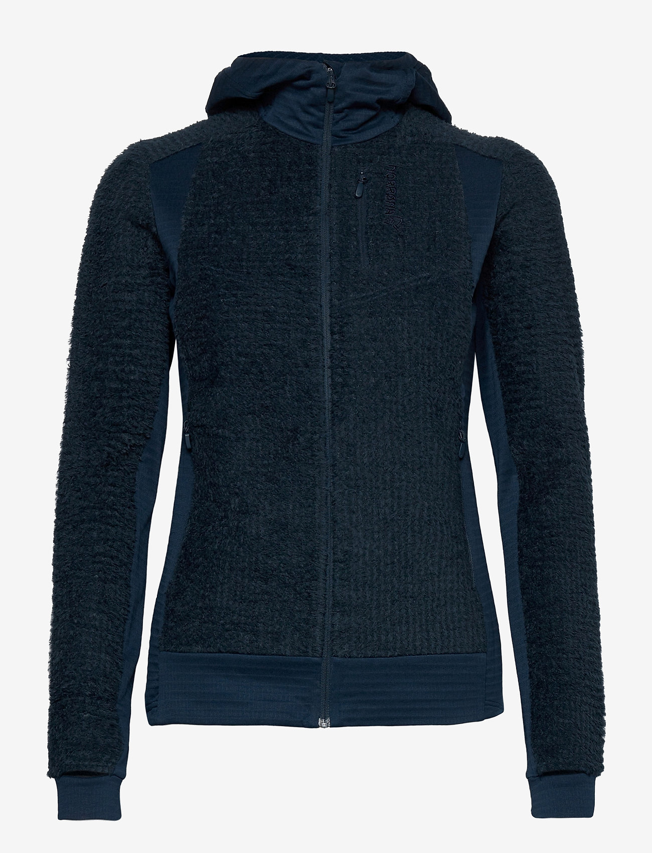 Norrøna - falketind Alpha120 Zip Hood W's - fleece - indigo night - 0
