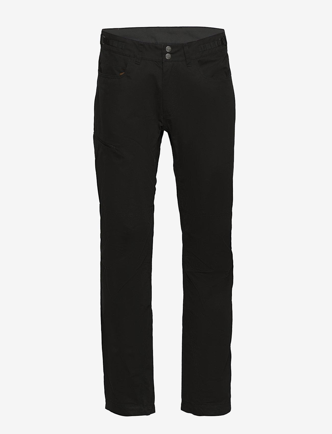 Norrøna - svalbard mid cotton Pants (M) - spodnie turystyczne - caviar - 0