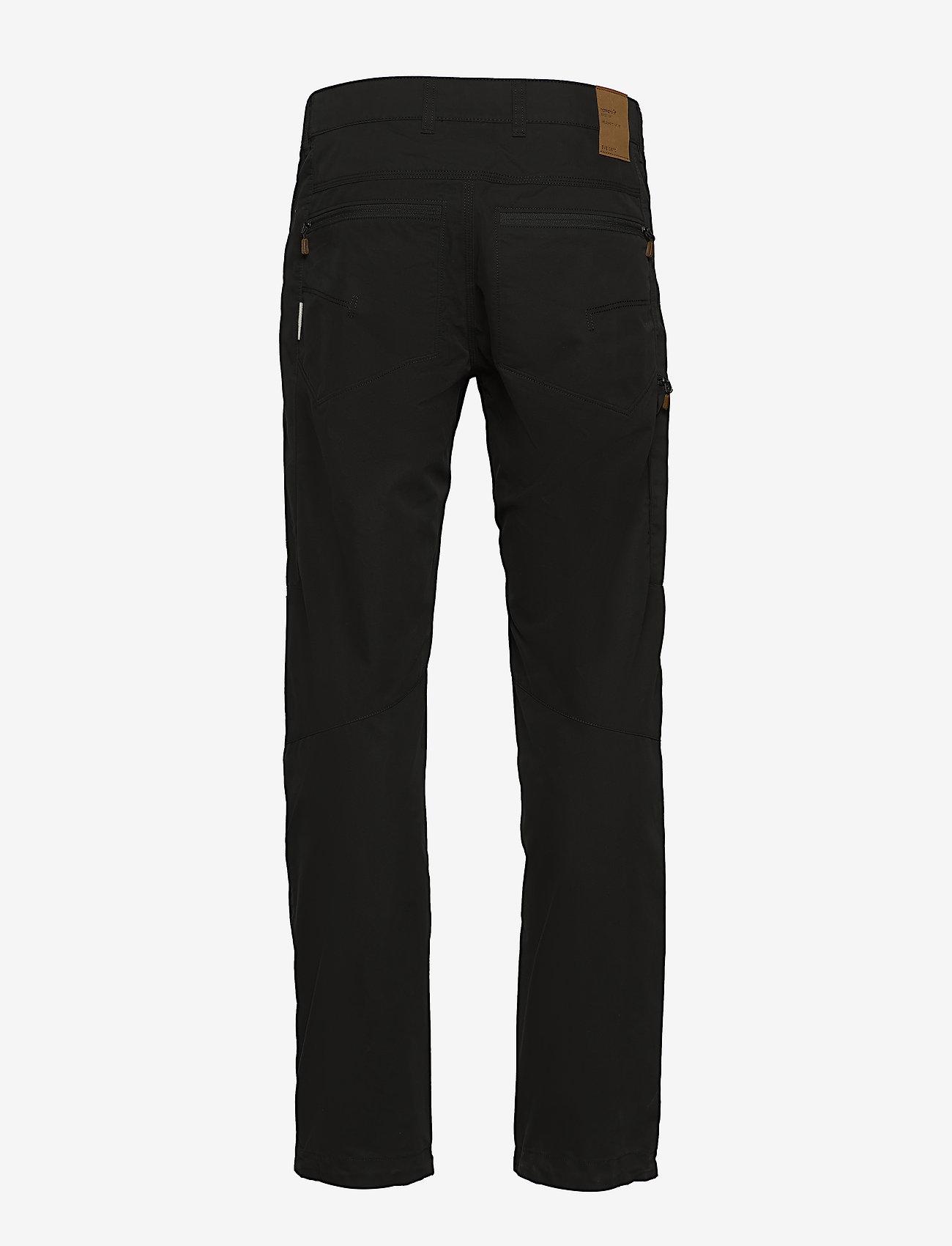 Norrøna - svalbard mid cotton Pants (M) - spodnie turystyczne - caviar - 1