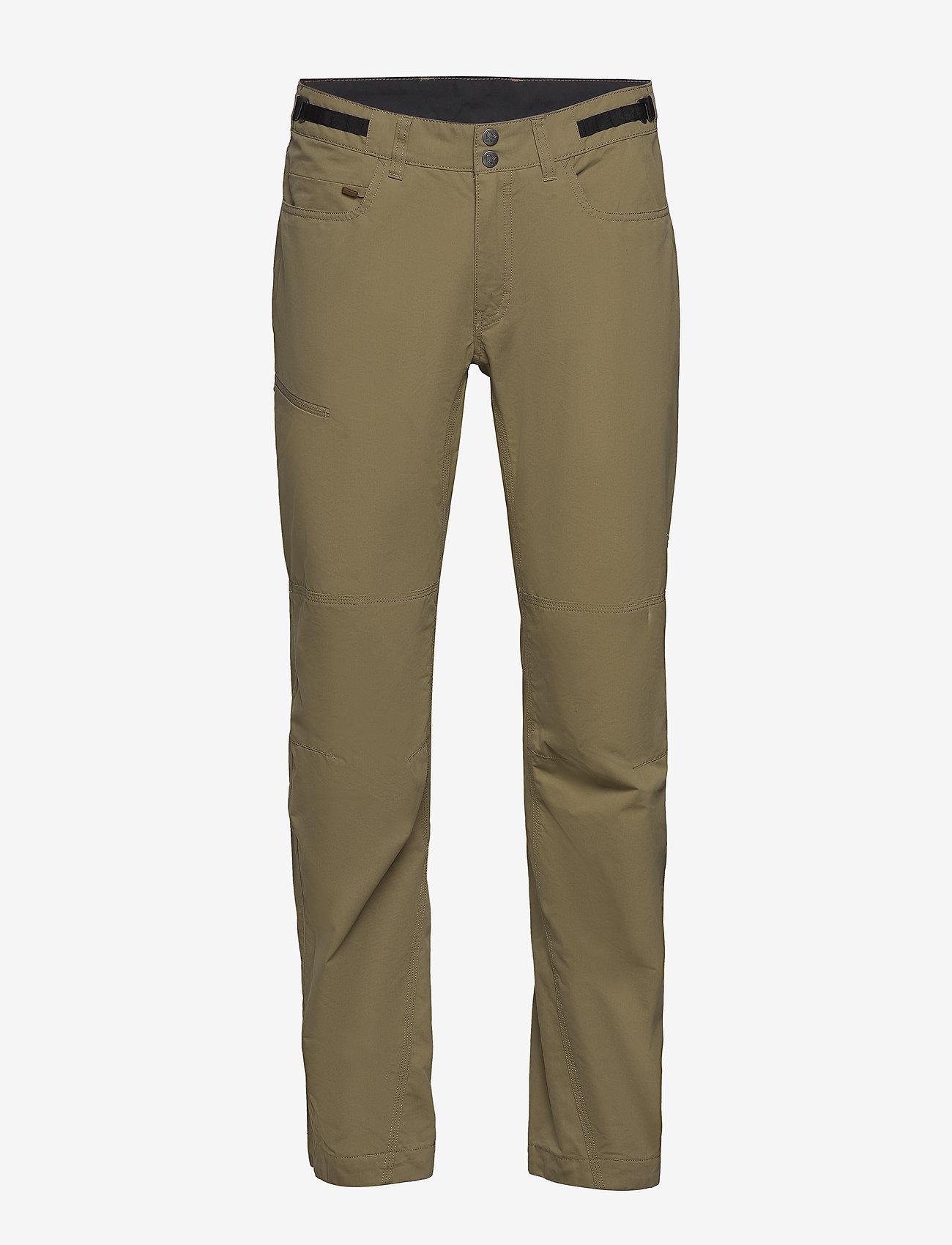 Norrøna - svalbard mid cotton Pants (M) - spodnie turystyczne - elmwood - 0