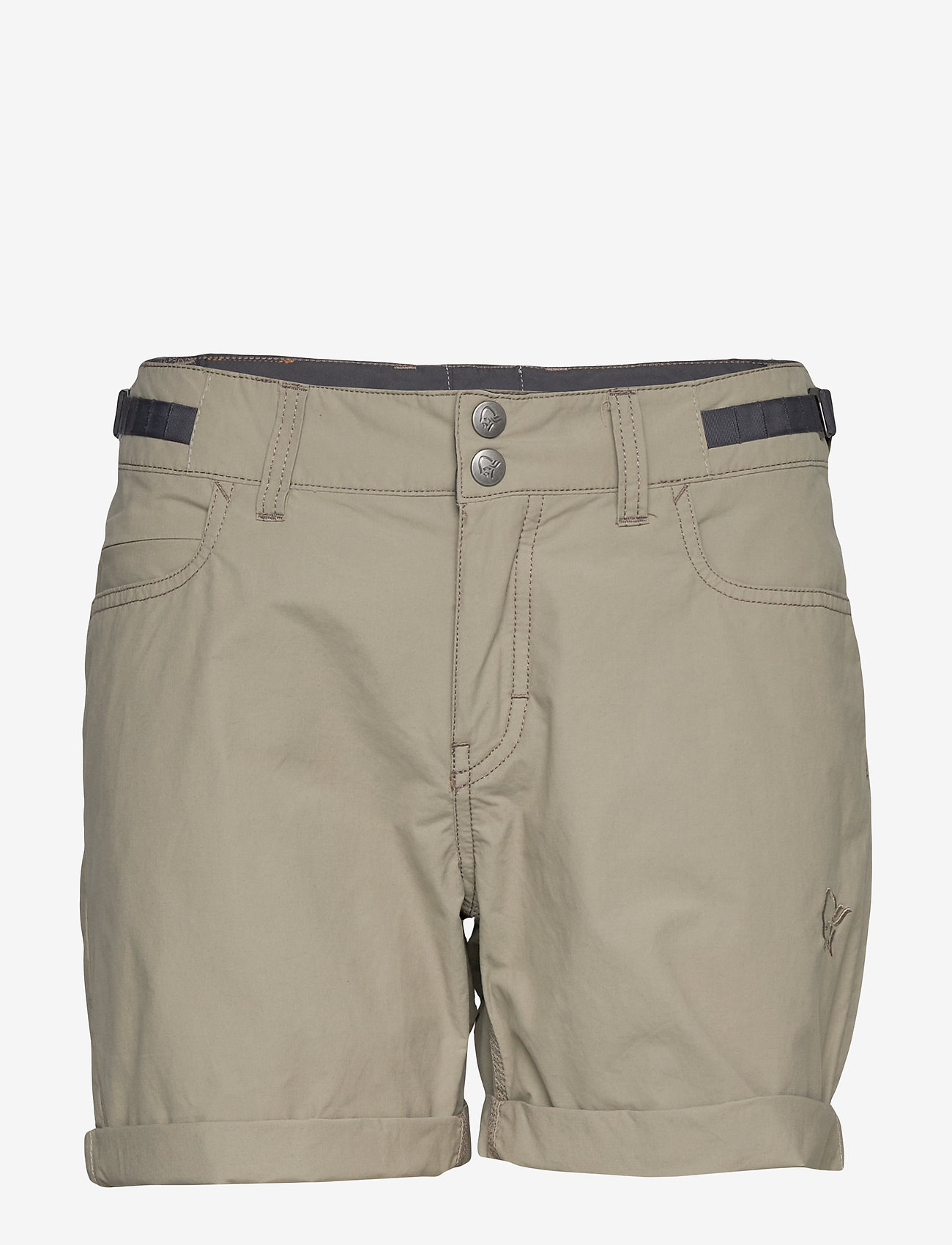 Norrøna - svalbard light cotton Shorts (W) - outdoorshorts - sandstone - 0