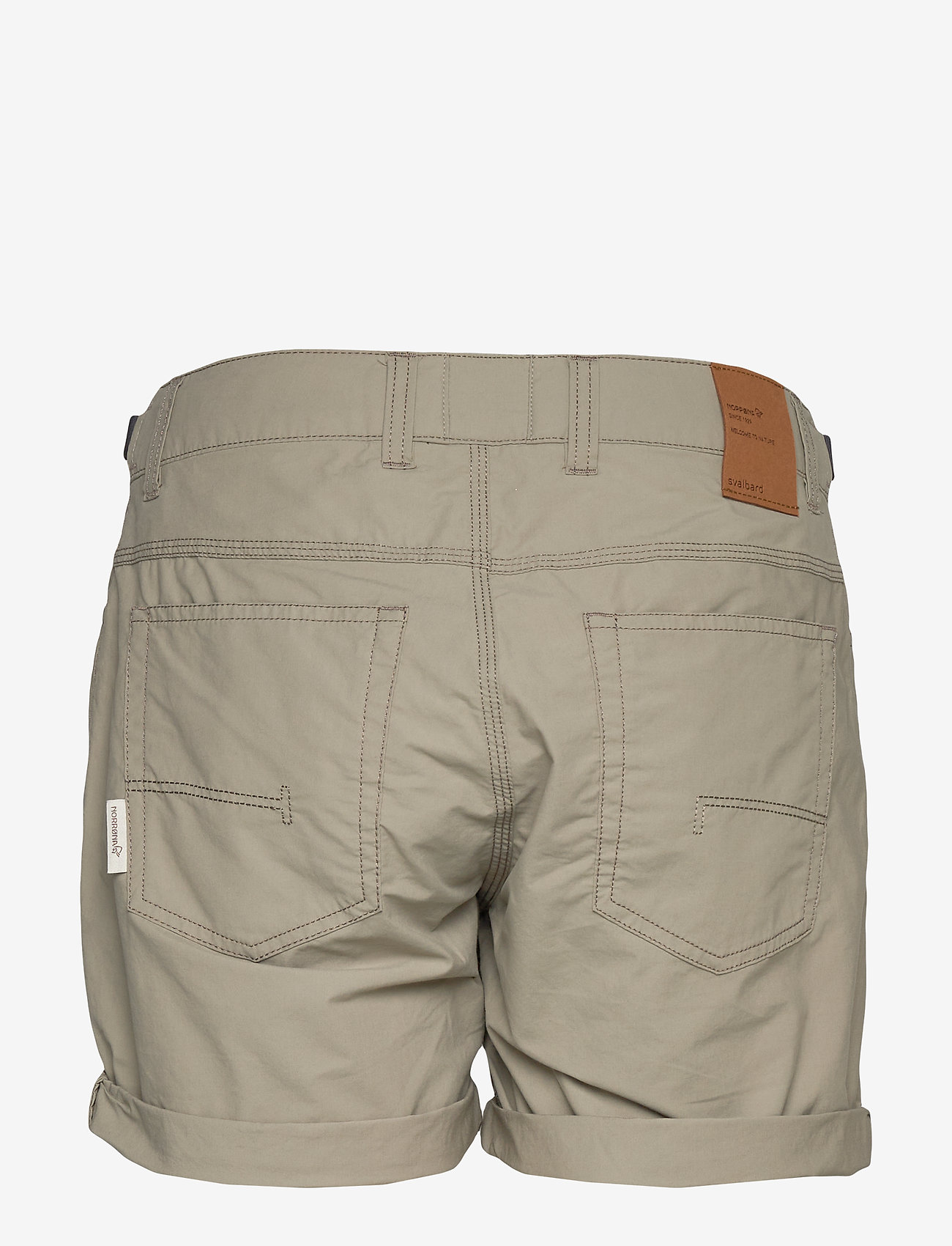 Norrøna - svalbard light cotton Shorts (W) - outdoorshorts - sandstone - 1
