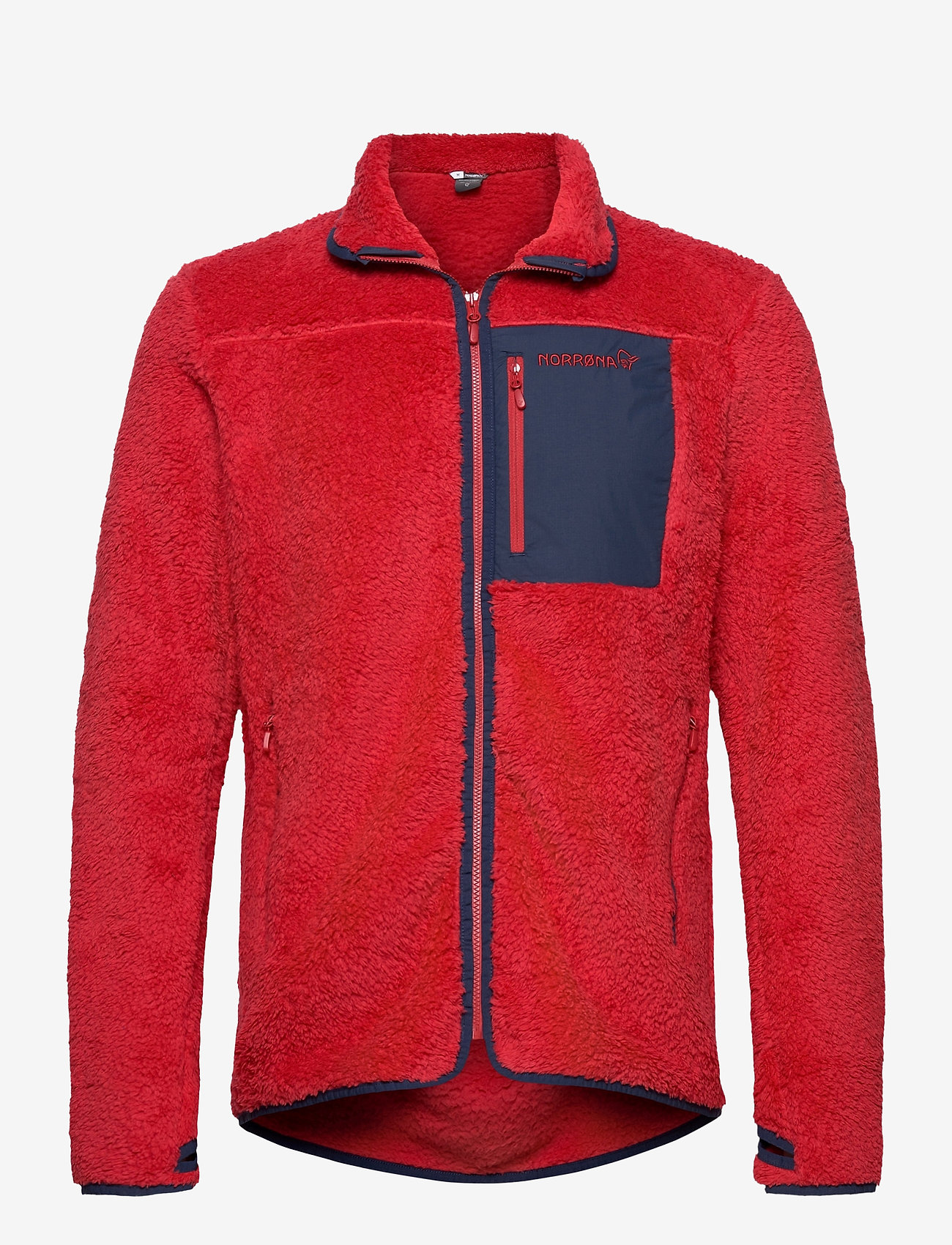 Norrøna - norrna warm3 Jacket M's - basic-sweatshirts - jester red - 0
