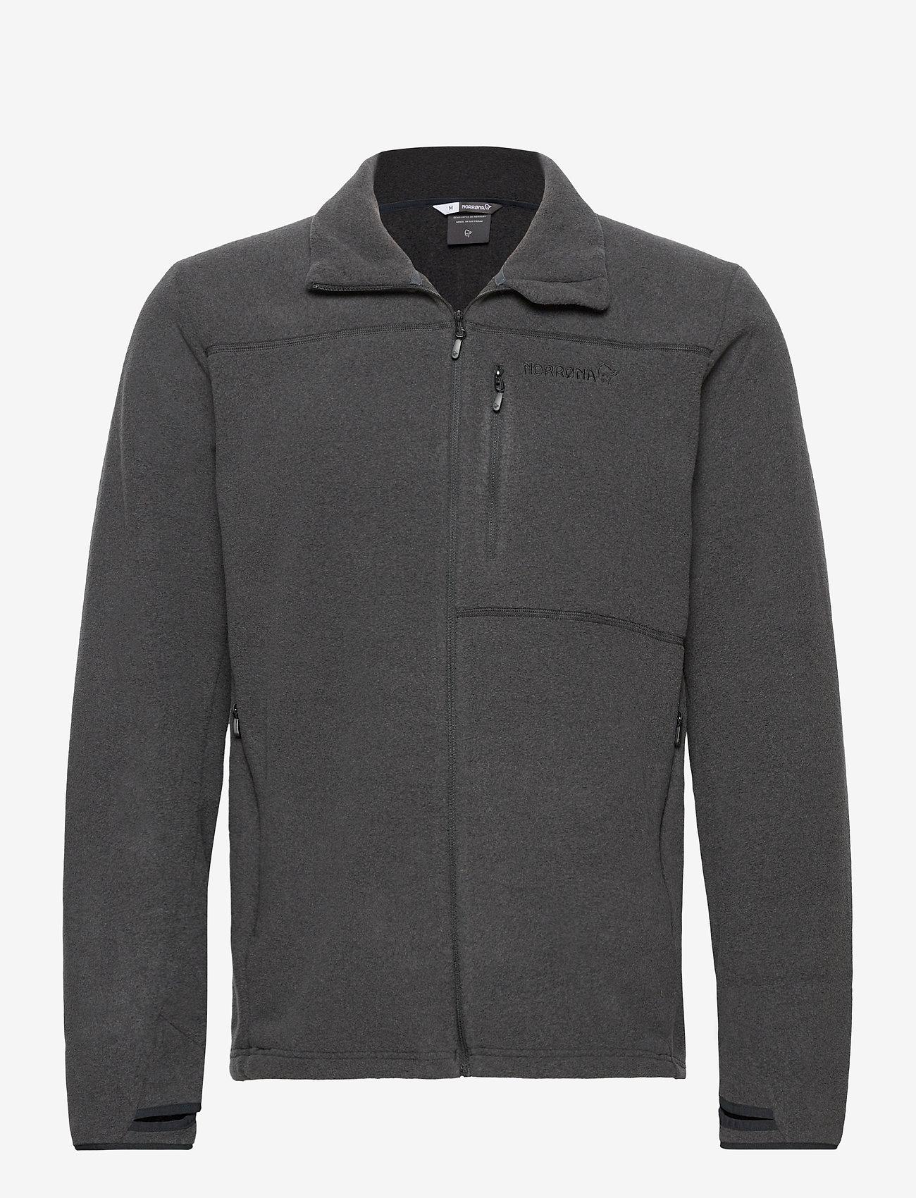 Norrøna - Norrna warm2 Jacket M's - basic sweatshirts - caviar melange - 0