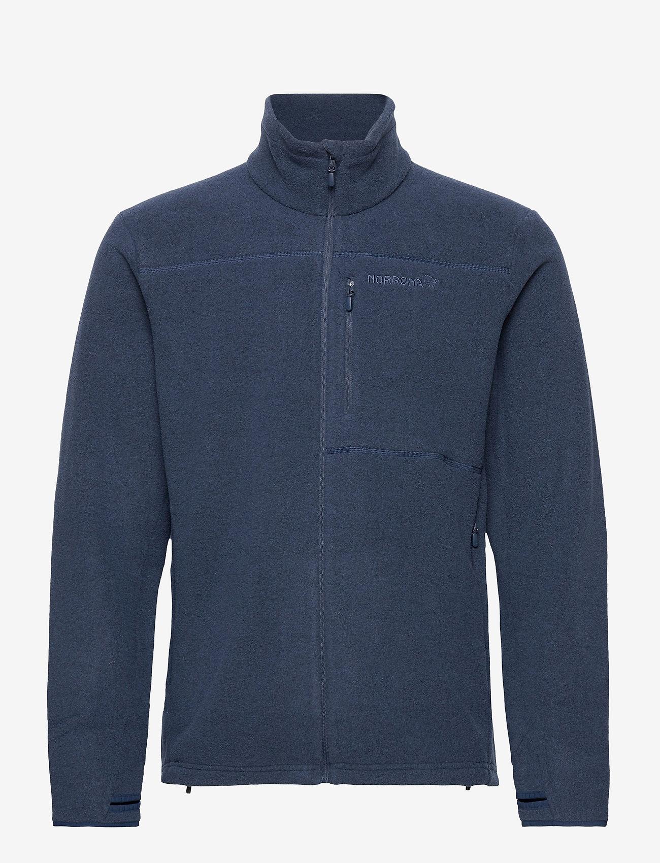 Norrøna - Norrna warm2 Jacket M's - basic-sweatshirts - indigo night - 1