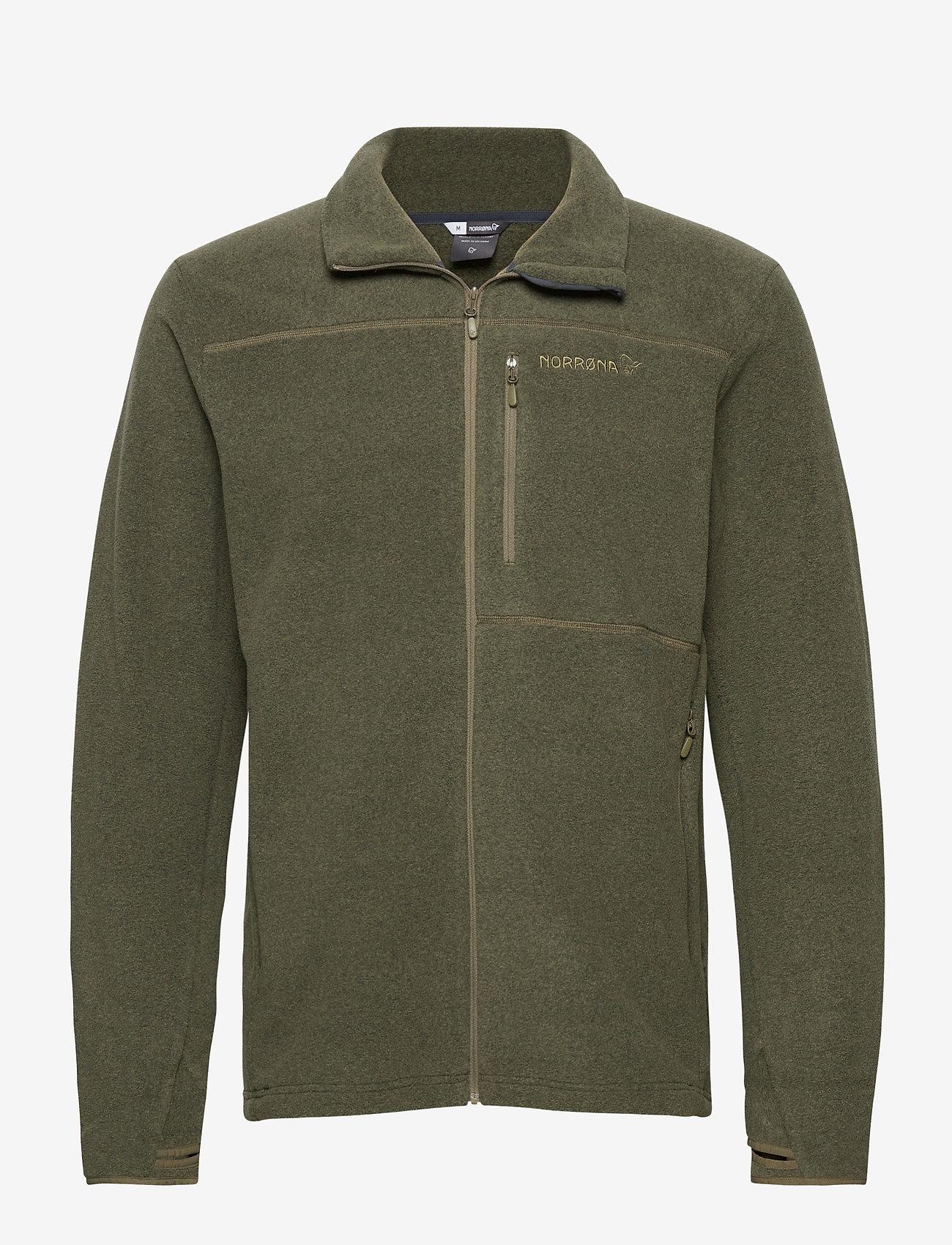 Norrøna - Norrna warm2 Jacket M's - basic-sweatshirts - olive night - 0