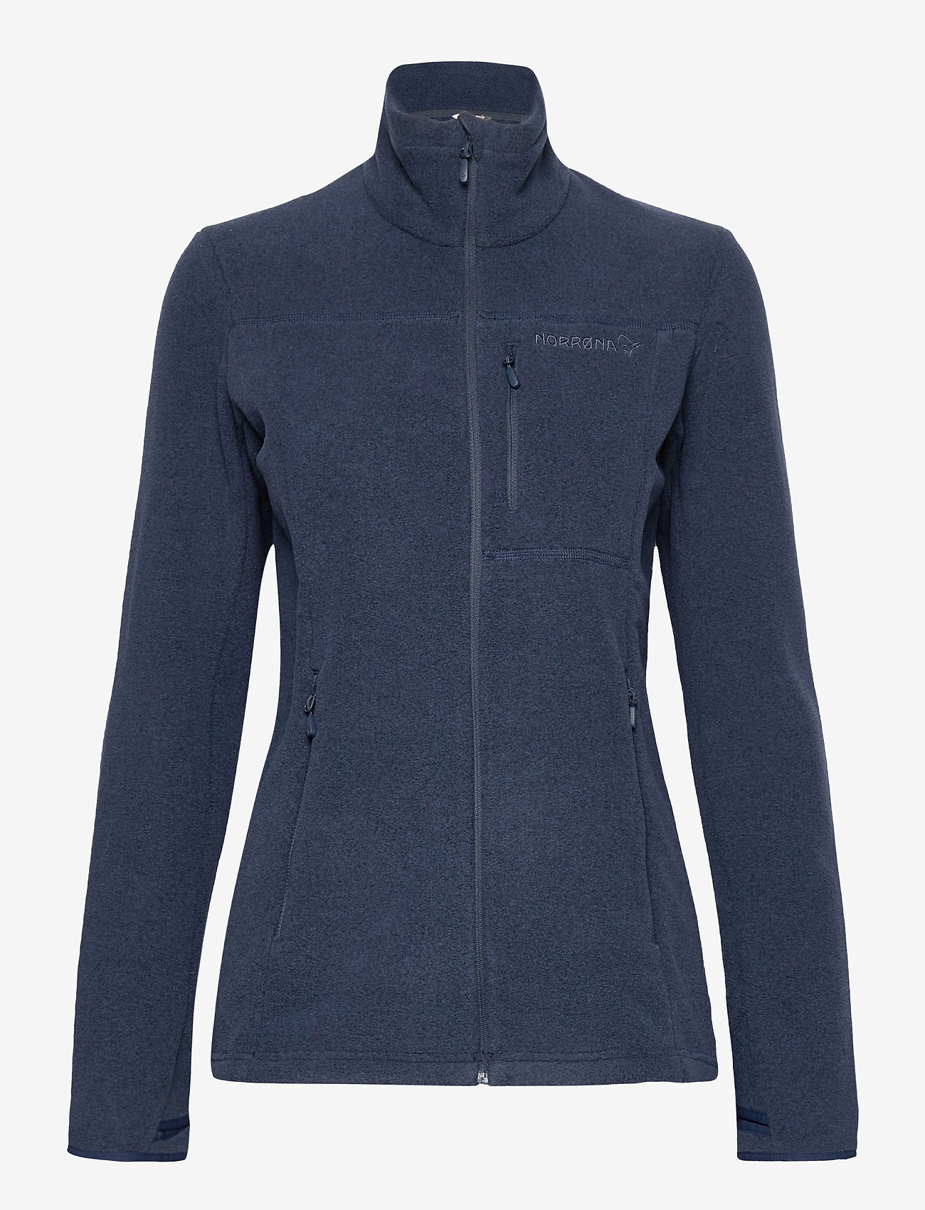 Norrøna - Norrna warm2 Jacket W's - fleece - indigo night - 0