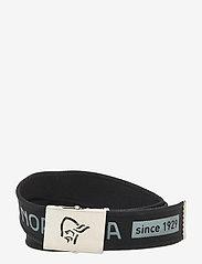 Norrøna - /29 viking head web clip belt - sportbälten - caviar - 0