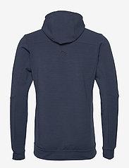Norrøna - falketind warmwool2 stretch Zip Hood M's - mittlere lage aus fleece - indigo night - 1