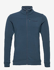 Norrøna - falketind warmwool2 stretch Jacket M's - podstawowe bluzy - indigo night - 0
