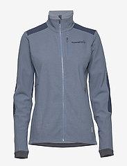 Norrøna - svalbard warm1 Jacket (W) - fleece midlayer - coronet blue - 0