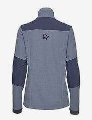 Norrøna - svalbard warm1 Jacket (W) - fleece midlayer - coronet blue - 1