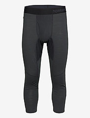 Norrøna - equaliser merino 3/4 Longs M's - base layer bottoms - caviar - 0
