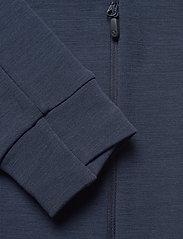 Norrøna - falketind warmwool2 stretch Zip Hood M's - mittlere lage aus fleece - indigo night - 3
