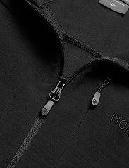 Norrøna - falketind warmwool2 stretch Zip Hood W's - fleece - caviar - 3