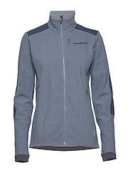svalbard warm1 Jacket (W) - CORONET BLUE