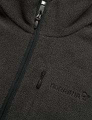 Norrøna - norrna warm2 halfzip Unisex - basic-sweatshirts - caviar melange - 2