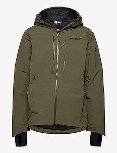 lofoten Gore-Tex insulated Jacket (M) - ski jackets - olive night