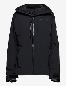 lofoten Gore-Tex insulated Jacket (W) - ski jackets - caviar