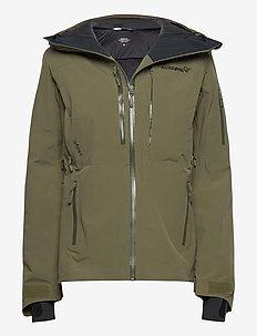 lofoten Gore-Tex insulated Jacket (W) - skijakker - olive night